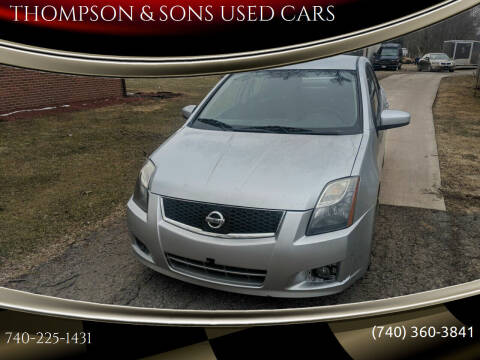 2010 Nissan Sentra for sale at THOMPSON & SONS USED CARS in Marion OH