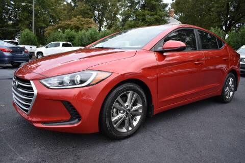 2017 Hyundai Elantra for sale at Apex Car & Truck Sales in Apex NC