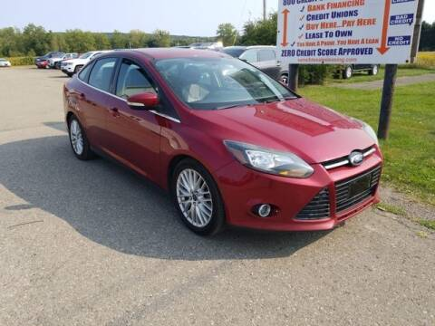 2014 Ford Focus for sale at Sensible Sales & Leasing in Fredonia NY