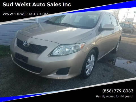 2009 Toyota Corolla for sale at Sud Weist Auto Sales Inc in Maple Shade NJ