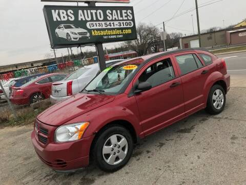 2007 Dodge Caliber for sale at KBS Auto Sales in Cincinnati OH
