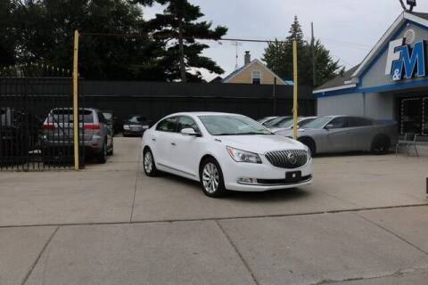 2014 Buick LaCrosse for sale at F & M AUTO SALES in Detroit MI