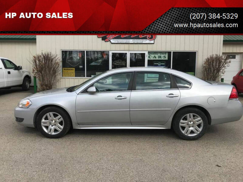 2011 Chevrolet Impala for sale at HP AUTO SALES in Berwick ME