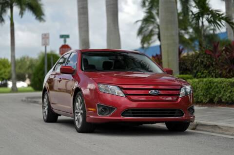 2012 Ford Fusion for sale at EURO STABLE in Miami FL