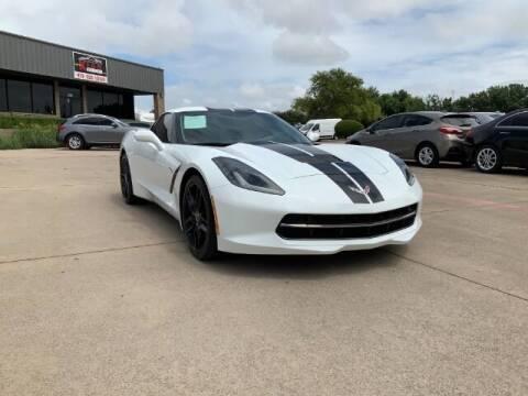 2019 Chevrolet Corvette for sale at KIAN MOTORS INC in Plano TX