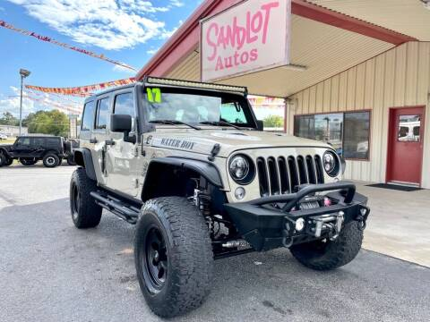 2017 Jeep Wrangler Unlimited for sale at Sandlot Autos in Tyler TX