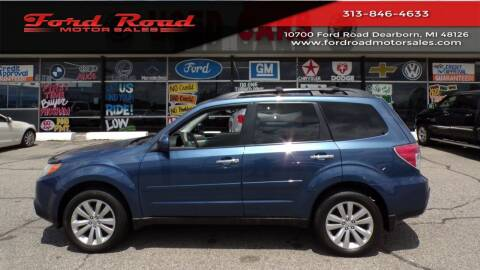 2013 Subaru Forester for sale at Ford Road Motor Sales in Dearborn MI
