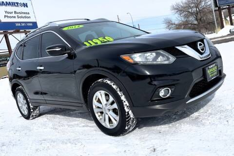 2014 Nissan Rogue for sale at Island Auto in Grand Island NE