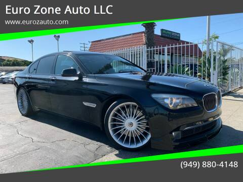 2011 BMW 7 Series for sale at Euro Zone Auto in Stanton CA