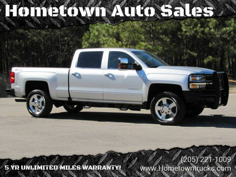 2016 Chevrolet Silverado 2500HD for sale at Hometown Auto Sales - Trucks in Jasper AL