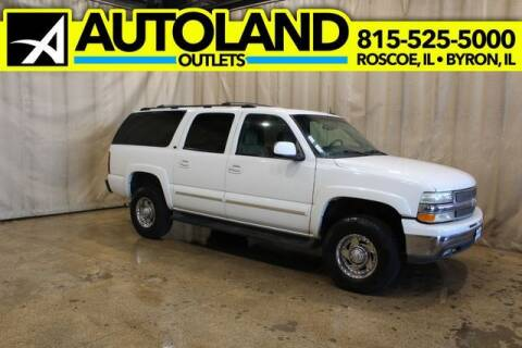 2003 Chevrolet Suburban for sale at AutoLand Outlets Inc in Roscoe IL