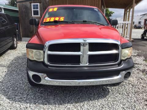 2004 Dodge Ram Pickup 1500 for sale at K & E Auto Sales in Ardmore AL