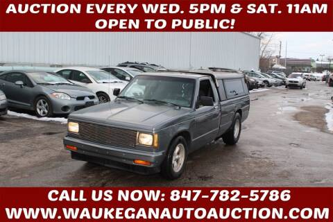 1987 Chevrolet S-10 for sale at Waukegan Auto Auction in Waukegan IL