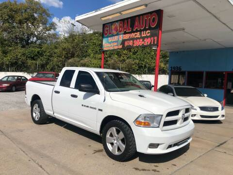 2012 RAM Ram Pickup 1500 for sale at Global Auto Sales and Service in Nashville TN