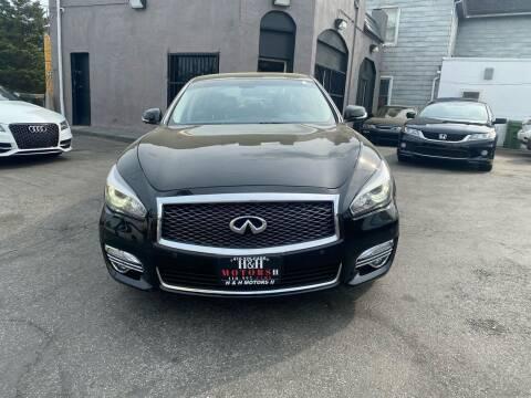 2016 Infiniti Q70L for sale at H & H Motors 2 LLC in Baltimore MD