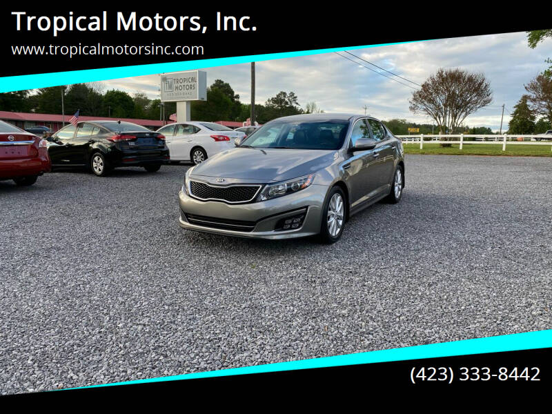 2015 Kia Optima for sale at Tropical Motors, Inc. in Riceville TN