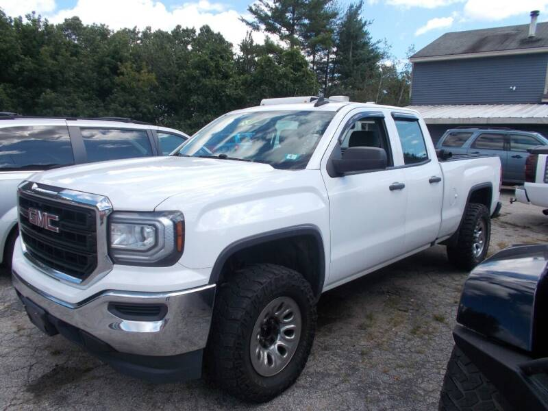 2017 GMC Sierra 1500 for sale at Manchester Motorsports in Goffstown NH