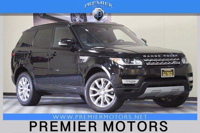 2016 Land Rover Range Rover Sport for sale at Premier Motors in Hayward CA