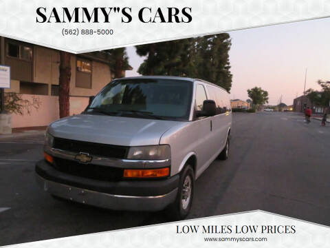 """2014 Chevrolet Express Passenger for sale at SAMMY""""S CARS in Bellflower CA"""
