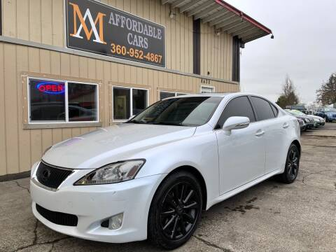 2010 Lexus IS 250 for sale at M & A Affordable Cars in Vancouver WA
