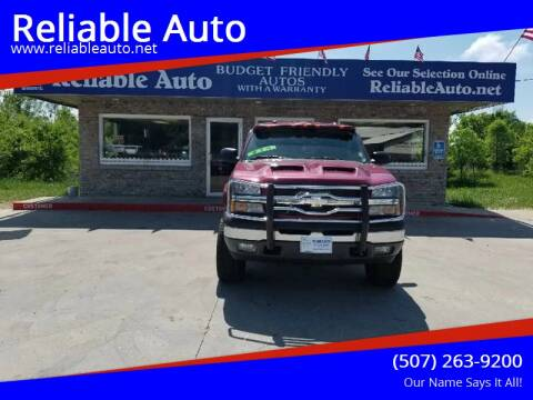 2005 Chevrolet Silverado 1500 for sale at Reliable Auto in Cannon Falls MN