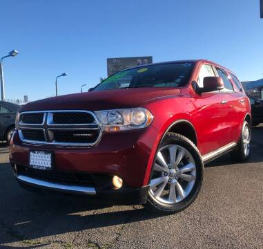 2013 Dodge Durango for sale at LUGO AUTO GROUP in Sacramento CA