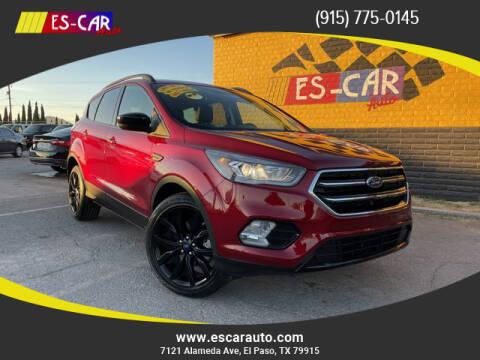 2018 Ford Escape for sale at Escar Auto in El Paso TX