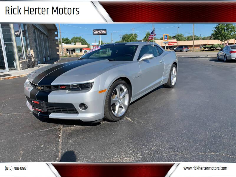 2015 Chevrolet Camaro for sale at Rick Herter Motors in Loves Park IL