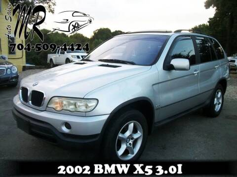 2002 BMW X5 for sale at Mr Auto Sales in Charlotte NC