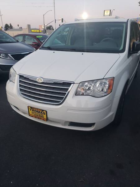 2010 Chrysler Town and Country for sale at Thomas Auto Sales in Manteca CA