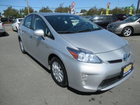 2012 Toyota Prius Plug-in Hybrid for sale at Tonys Toys and Trucks in Santa Rosa CA