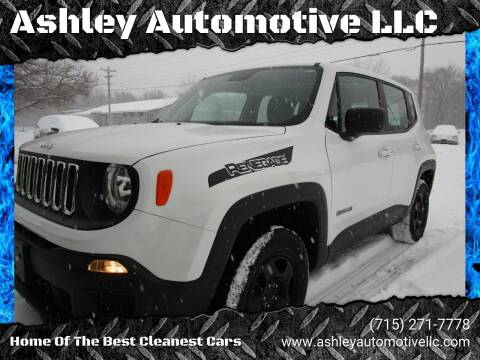 2018 Jeep Renegade for sale at Ashley Automotive LLC in Altoona WI