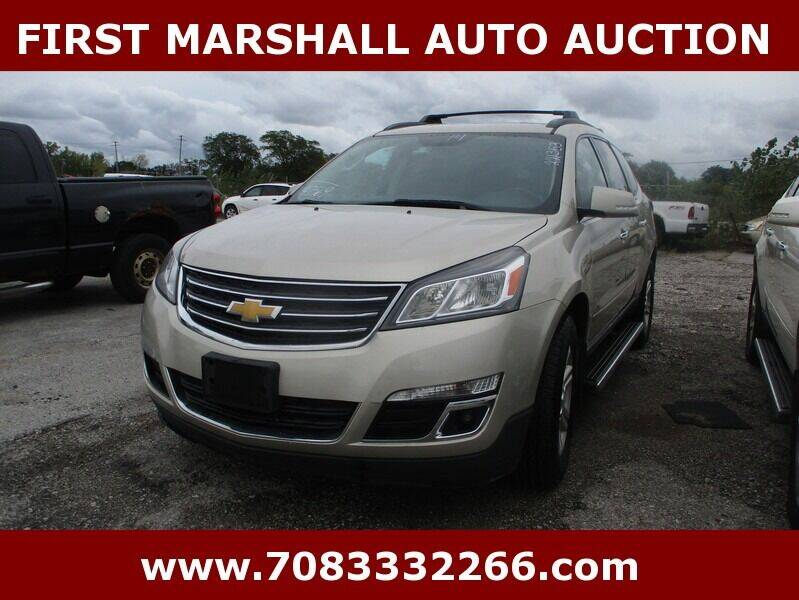 2014 Chevrolet Traverse for sale at First Marshall Auto Auction in Harvey IL