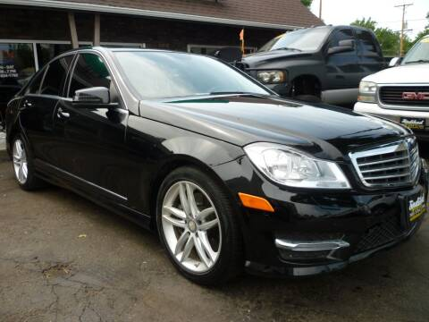 2014 Mercedes-Benz C-Class for sale at Sindibad Auto Sale, LLC in Englewood CO