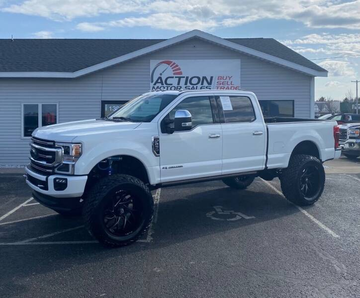 2020 Ford F-250 Super Duty for sale at Action Motor Sales in Gaylord MI