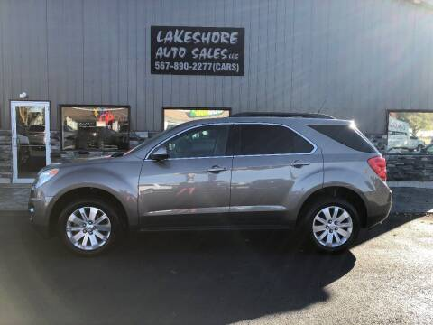 2011 Chevrolet Equinox for sale at Lakeshore Auto Sales LLC in Celina OH