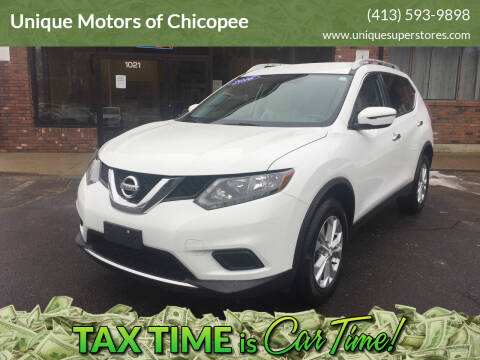 2016 Nissan Rogue for sale at Unique Motors of Chicopee in Chicopee MA