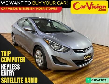 2016 Hyundai Elantra for sale at Car Vision Mitsubishi Norristown in Norristown PA