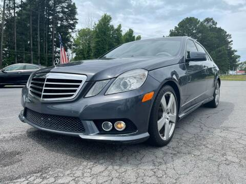 2010 Mercedes-Benz E-Class for sale at Airbase Auto Sales in Cabot AR