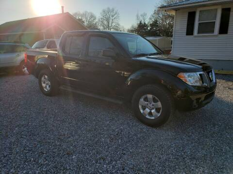 2012 Nissan Frontier for sale at Wheel Tech Motor Vehicle Sales in Maylene AL