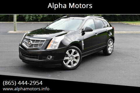 2011 Cadillac SRX for sale at Alpha Motors in Knoxville TN
