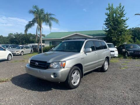 2005 Toyota Highlander for sale at Popular Imports Auto Sales in Gainesville FL