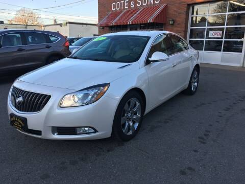 2012 Buick Regal for sale at Cote & Sons Automotive Ctr in Lawrence MA
