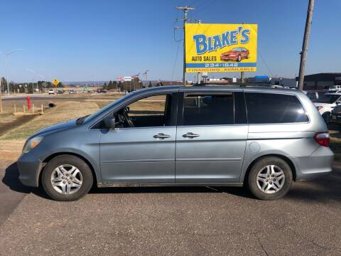 2005 Honda Odyssey for sale at Blake's Auto Sales in Rice Lake WI