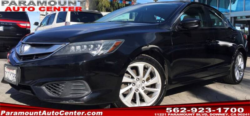2016 Acura ILX for sale at PARAMOUNT AUTO CENTER in Downey CA