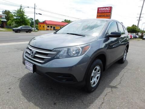 2013 Honda CR-V for sale at Cars 4 Less in Manassas VA
