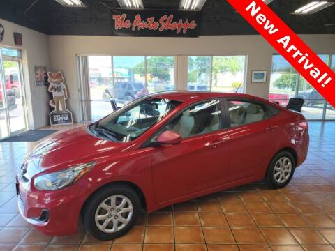 2012 Hyundai Accent for sale at The Auto Shoppe in Springfield MO