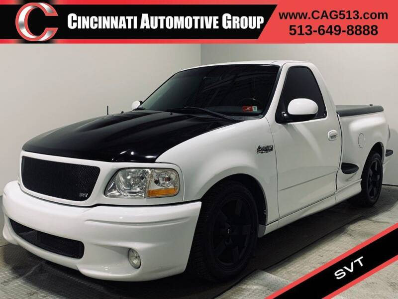 2001 Ford F-150 SVT Lightning for sale at Cincinnati Automotive Group in Lebanon OH