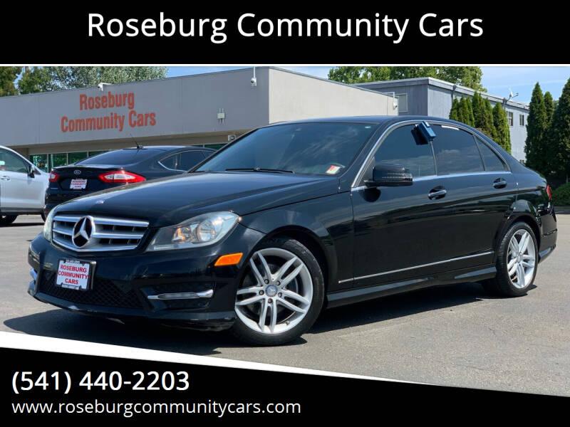 2013 Mercedes-Benz C-Class for sale at Roseburg Community Cars in Roseburg OR