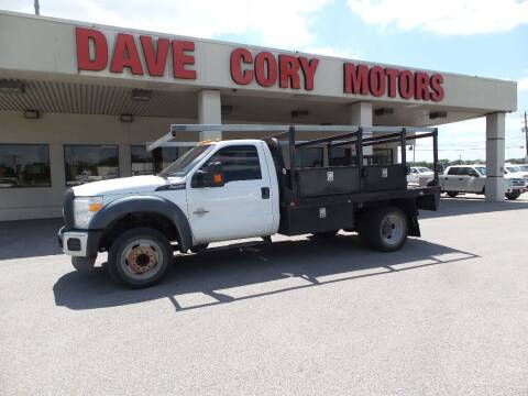 2013 Ford F-450 Super Duty for sale at DAVE CORY MOTORS in Houston TX
